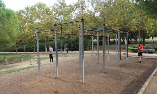 Apolo estructura de Street Workout-Calistenia