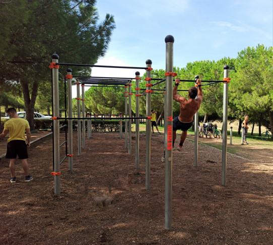 Apolo estructura de Street Workout-Cal·listènia
