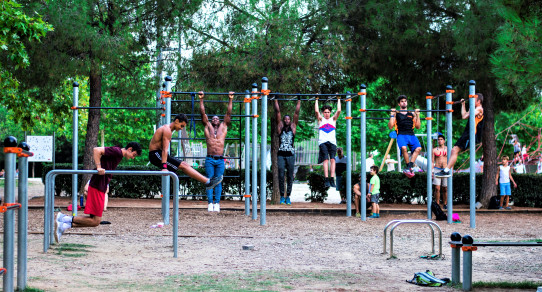 Área 1 Street Workout calistenia