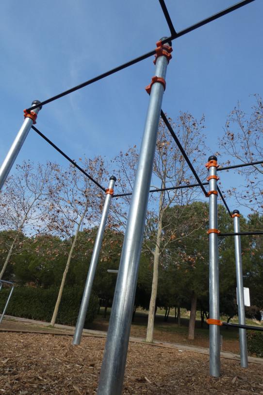 Columnas Street Workout-calistenia