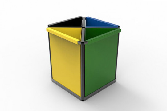 Denver recycling bin