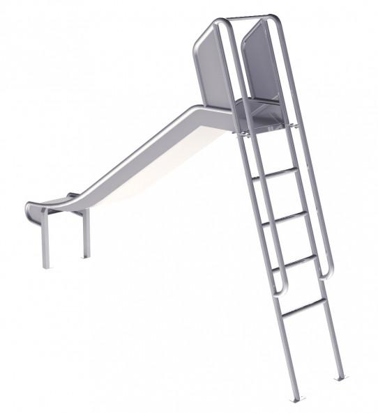Faites glisser avec une échelle de 1,5m de hauteur.