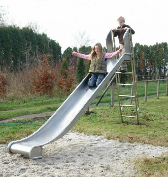 Faites glisser avec une échelle de 1m de hauteur.