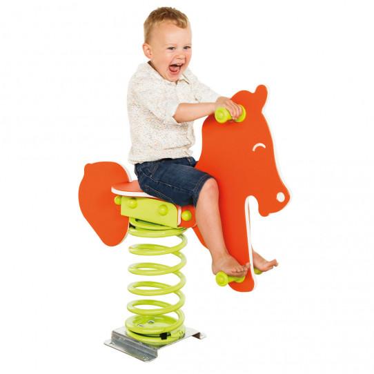 Horse spring child game