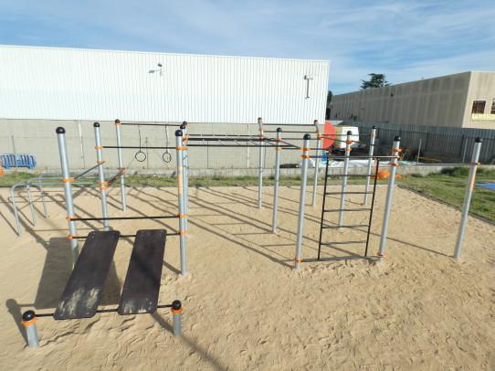 Kronos estructura de Street Workout-Calistenia