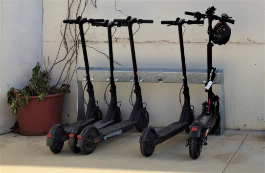 Nexus Park scooters