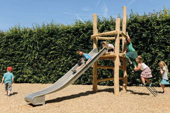 Open play tower