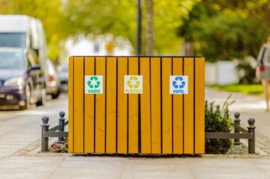 Papelera de reciclaje Berlín