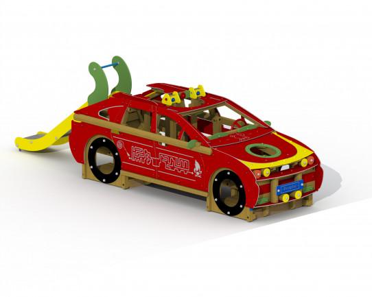 pompiers de voiture