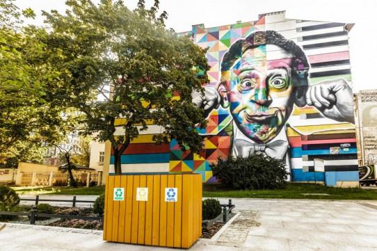 Poubelle de recyclage de Berlín
