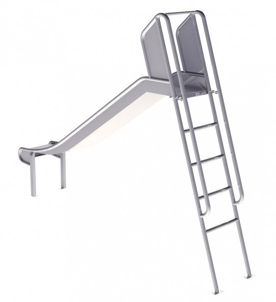 Slide with 1,5m height ladder.
