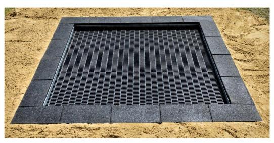 Square springboard