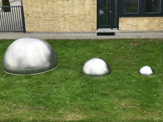 Stainless steel dome