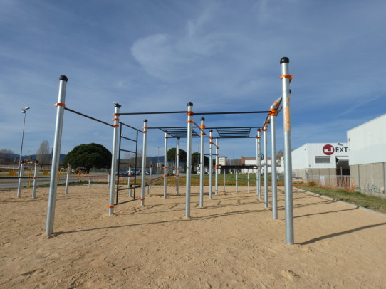 Structure de Kronos de Street Workout-Calisthenia