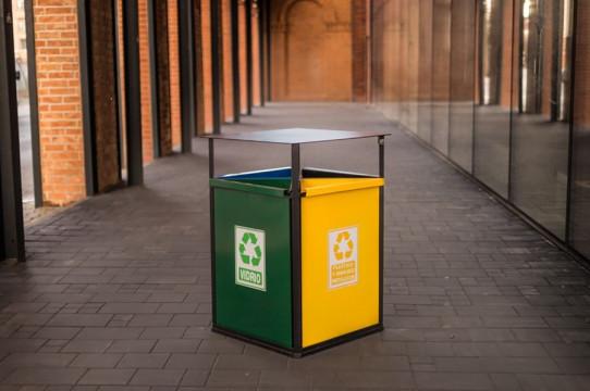 Tokyo recycling bin