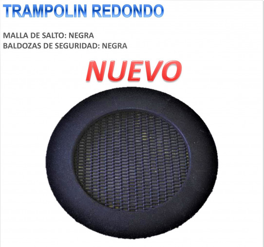 Trampoline rond