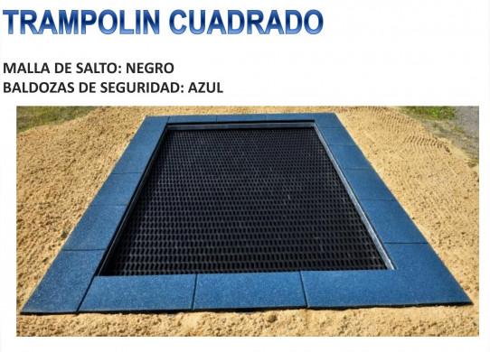 Tremplin carré