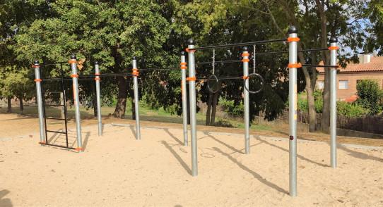 Vulcano structure Street Workout-Calisthenics
